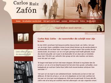 Carlos Ruiz Zafon site