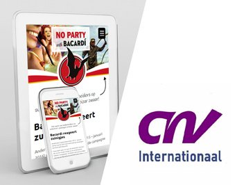 CNV Internationaal campagnewebsite
