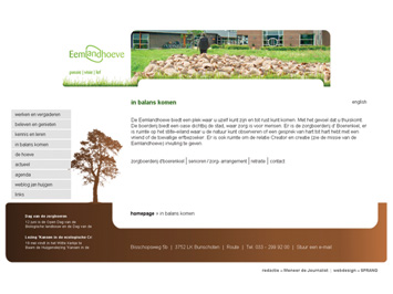 Eemlandhoeve website