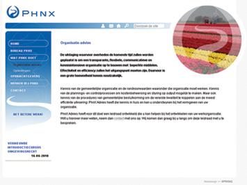 PHNX website
