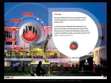Stadsdag Utrecht website