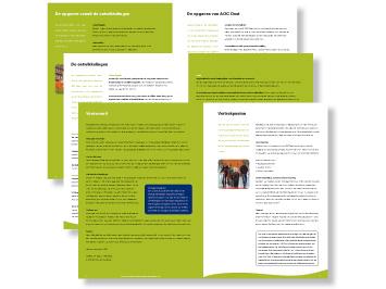 AOC Oost brochure