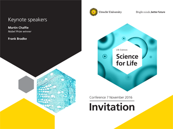 Science for Life uitnodiging